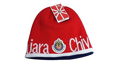 CHIVAS DE GUADALAJARA FC FUTBOL FOOTBALL SOCCER KNIT CAP HAT BEANIE by RX Group In