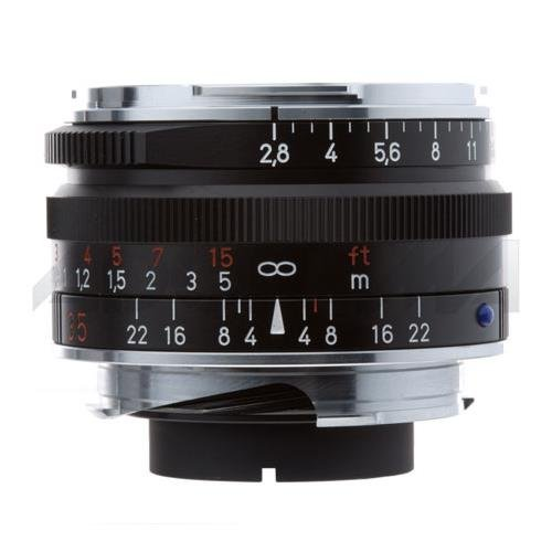 Zeiss 35mm f/2.8 C Biogon T* ZM Manual Focus Lens (Leica M-Mount) - Black