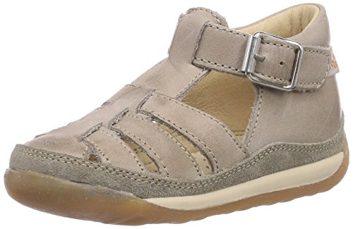 Naturino Falcotto 163, Unisex Baby Crawling Baby Sandals, Beige (Tortora), 5 UK (22 EU)
