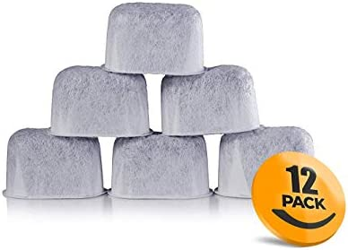 Okay&J 12-Pack of Cuisinart Compatible Replacement Charcoal Water Filters for Coffee Makers - Fits all Cuisinart Coffee Makers