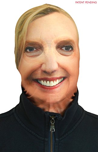 Faux Real Hillary Rodham Clinton Halloween Costume Face Mask - One Size Fits Most