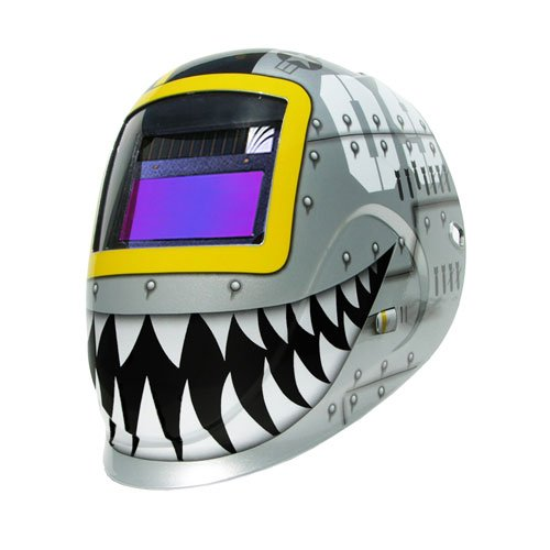 ArcOne 5000V-1171 Python Welding Helmet with 5000V Shade Master Filter, Fighting Tiger