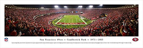 San Francisco 49ers - Final Game at Candlestick - Blakeway Panoramas Unframed NFL Posters