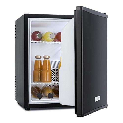 KLARSTEIN MKS-5 – Minibar, Mini Nevera, Nevera para Bebidas, Clase G, 40 litros, Silenciosa, 30 dB, 43 x 51 x 48 cm (An…