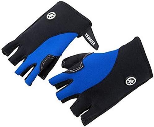 Genuine Yamaha 19 Childrens Blue//Green Off-Road Gloves