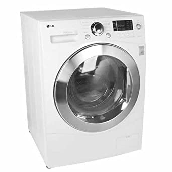 lg wm3455hw front load washer dryer combo with rpm ventless condensing dryer