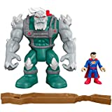 Fisher-Price Imaginext DC Super Friends Doomsday and Superman