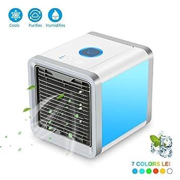 Mini Luftkühler Klimageräte Klimaanlage Usb Mobil Luftbefeuchter Ventilator Weiß Klimageräte & Ventilatoren