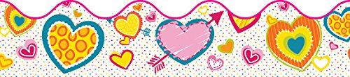 Hearts Scalloped Borders (Valentines Day Bulletin Board)