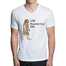 Cool Tee Shirts 23Andme Neanderthal Short Sleeve Shirts