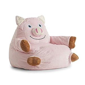 BigJoe Penelope the Pig Arm Chair Bean Bag