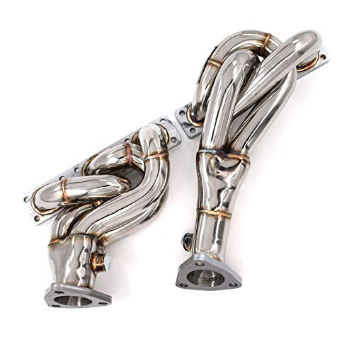 Exhaust Headers 1-1/2 x 2 in. for BMW E36 92-00 323i 325i 328i M3 Z3 Z3M 2.5L 2.8L 3.2L M50 S50 M52 S52 (Equal Length Shorty Headers)