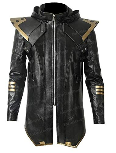 Avengers Endgame Clint Barton/Hawkeye Ronin Hooded Jacket Costume -