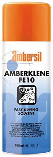 31553-AA AMBERSIL AMBERKLENE FE10 FAST DRYING SOLVENT BASED CLEANER 400ML AEROSOL