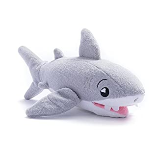 SoapSox, Tank The Shark - Children's Bath Toy, Grey
