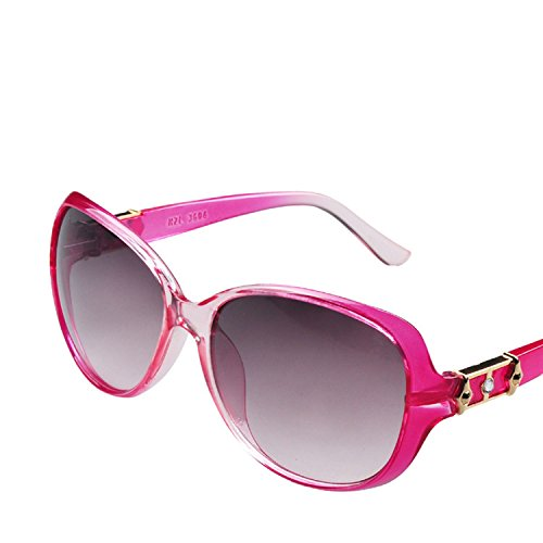 2018 ladies sunglasses 3604 sunglasses large frame oval mirror,in-kind shooting (see photo),C09 ()
