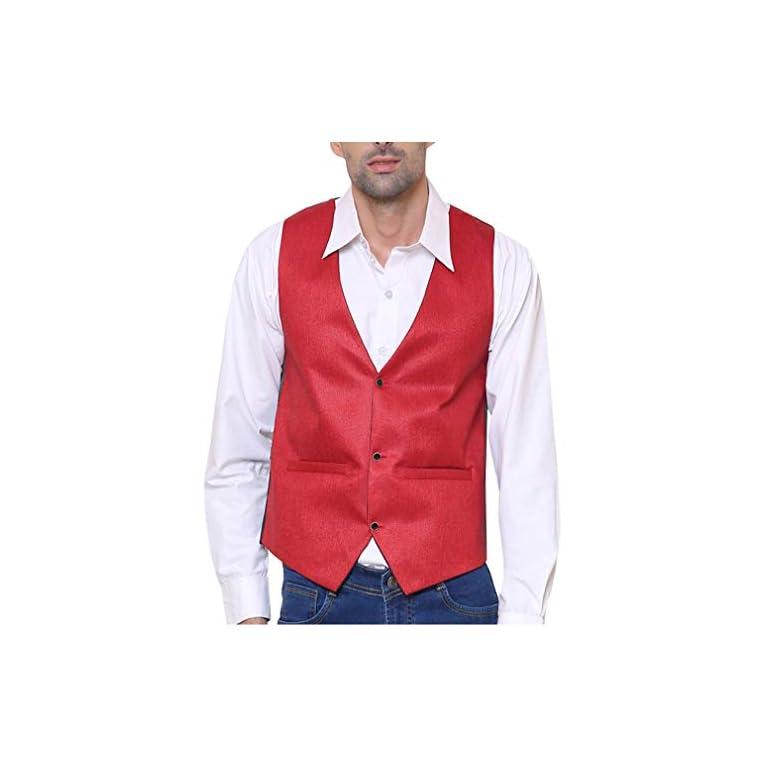 41Rn8lvvFDL. SS768  - SORELLA'Z Men's Waistcoat (Multicolour, Free Size)