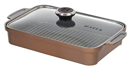 MAKER Homeware Rectangular Steam Grill