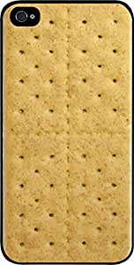 Graham Cracker- Case for the Apple Iphone 6 4.7-6 4.7s Universal-Hard Black Plastic