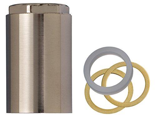 BrassCraft Mfg SWD0453 MIXET STEM REPAIR RETAINER NUT PVD SATIN NICKEL MS ()