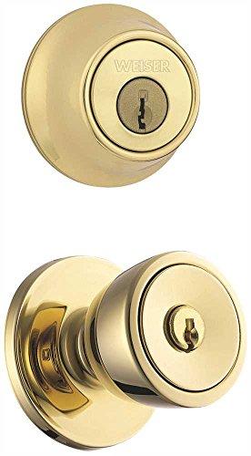 Weiser GAC531B26D GDC9471 K2 New Style Elements Beverly Ent/Deadbolt Set Ka D Chrome, Plastic, 1'' x 1'' x 1'' by Weiser