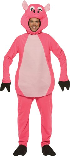 Farm Girl Costumes For Adults (Pig Costume Costume - One Size - Chest Size 48-52)