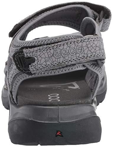 Mujer dark Sandalias Para titanium Punta Shadow Abierta Offroad Ecco 57486 Con w8O5AnYq