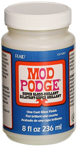 (Mod Podge Super Thick Gloss (8-Ounce), CS11297)