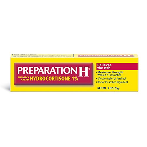 Preparation H Anti-Itch Treatment Cream