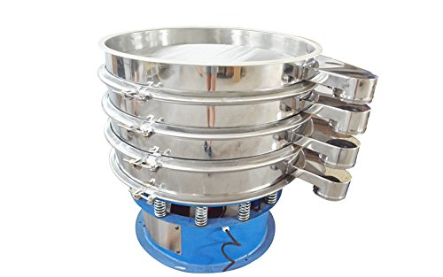 220V 750W Electric 31.5'' Diameter Three Layers Stainless Steel Powder Vibrating Machine Shaker Screen by shaker (Image #4)