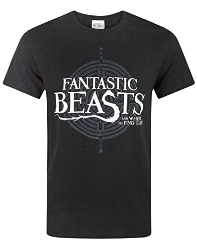 Fantastic Beasts And Where To Find Them Logo Men's T-Shirt (L)