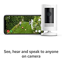 All-new Ring Stick Up Cam Battery HD security camera with two-way talk, Works with Alexa – 2-Pack