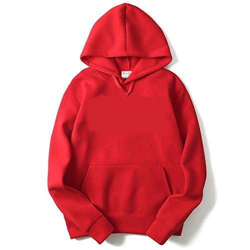 The Sv Style Men S Women S Cotton Hooded Hoodie Svplainredhoo Red Small Amazon In Clothing Accessories Get cozy in a red hoodie for women from h&m. the sv style men s women s cotton hooded hoodie