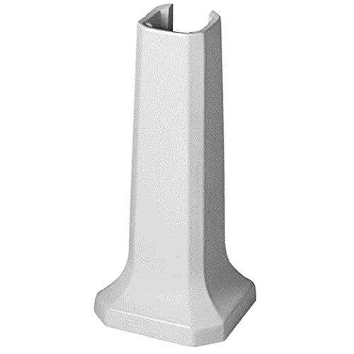 Duravit 0857900000 1930 Series Sink Pedestal, White Finish by Duravit