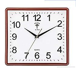 mubgo Wall Clocks Square Wall Clock Nordic Modern Design Acrylic Mirrored Decorative Sticker Clocks Wall Clock Digital Wall Watch Home