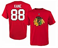 Patrick Kane Chicago Blackhawks #88 NHL Youth Player T-shirt Red