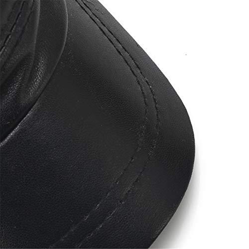 de de el de de de Delgados Aire y Cuero al Parte Cuero GLLH de Sombreros hat Libre la la Edad Hombres los Primavera Mediana otoño Superior Sombreros Hombres Sombreros los Viejos Sombreros qin y de w8qt1X4