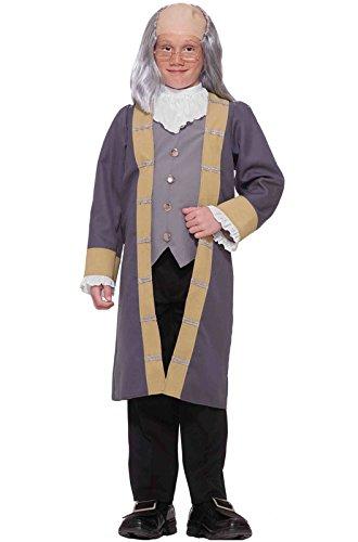 [Ben Franklin Child Costume, Large] (Ben Franklin Costumes Child)