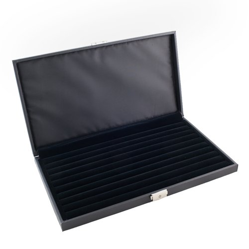 Caddy-Bay-Collection-High-Quality-Lockable-Jewelry-Ring-Display-Storage-Case-Holds-72-Rings-with-9-Ring-Rows-CBC72