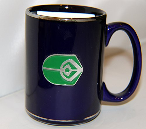Star Trek Ceramic Mug with Logo of Fine Pewter & Enamel 16oz.