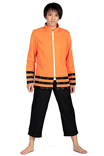 Movie Quality Costumes Uk (SDWKIT Boruto: Naruto the Movie Cospaly Costume Uzumaki Naruto Outfit Set V10)