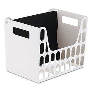 UNV20405 - Letter Size Plastic Hanging Folder File