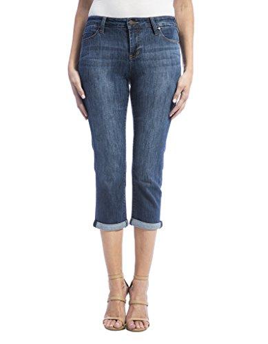 Comfort Denim Cropped Pants - 2