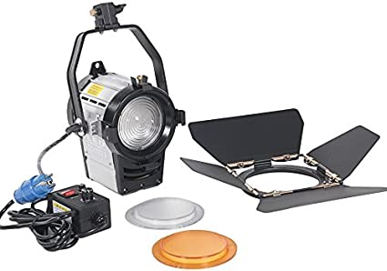 100W Dimmable Bi-Color LED Studio Fresnel Spot Light 3200 / 5500K para la cámara de Estudio Photo Video Equipment: Amazon.es: Electrónica