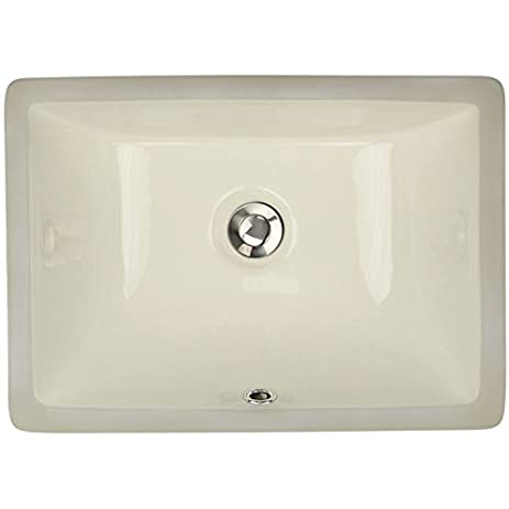 Highpoint Collection 16 X 11 Inch Rectangle Undermount Bathroom Sink