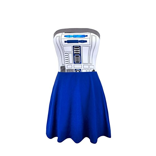 Used, Star Wars R2D2 Juniors Costume Tube Dress - Small for sale  Delivered anywhere in USA