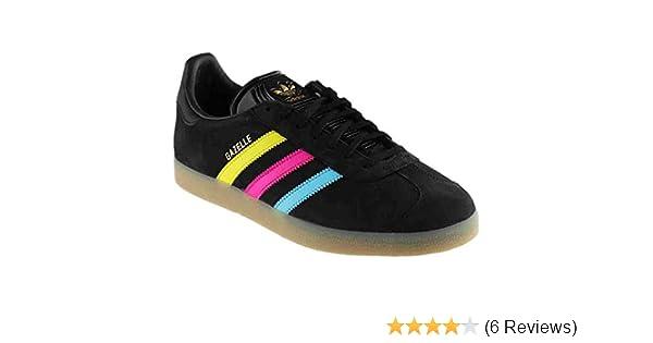 buy online eba8f 5ee10 Amazon.com  adidas Gazelle BlackMulticolor  Fashion Sneakers