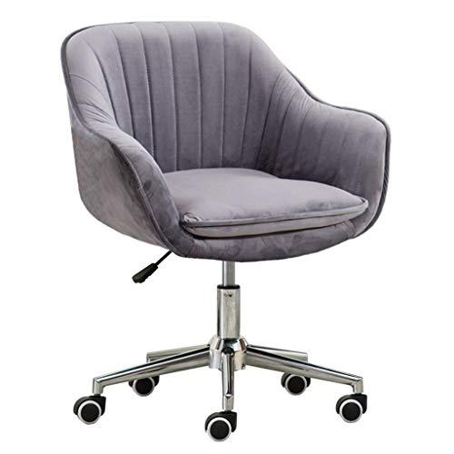 Ergonomic Office Game Chairs Leather//Velvet Padded Swiveling Computer Desk Chair