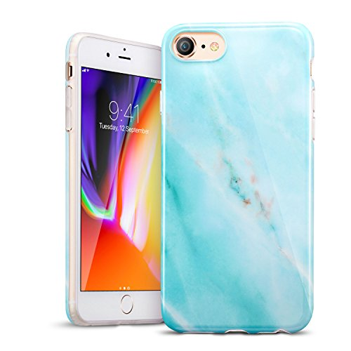 """iPhone 8 Case,iPhone 7 Case,ESR Soft TPU Marble Pattern Shell Cover for Apple 4.7"""" iPhone 8"""