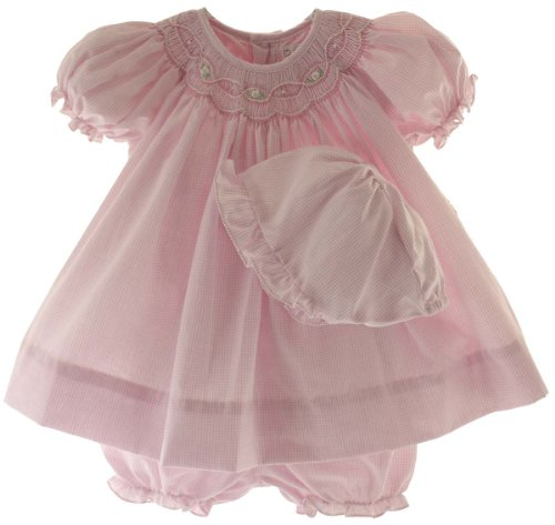 Petit Ami Newborn Smocked Bloomers product image